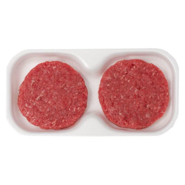 Hamburger di bovino adulto