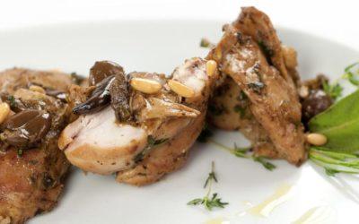 La ricetta originale Tallone del Coniglio alla Ligure