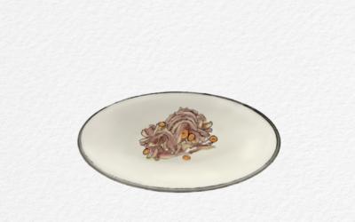 Insalata di nervetti con carote di Polignano